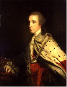 .:. The 4th Duke of Queensbury as Earl of March, 1759-1760 Joshua Reynolds