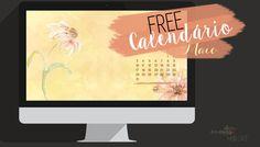 Freebie | Wallpaper c/ calendário de Maio - nuages dans mon café