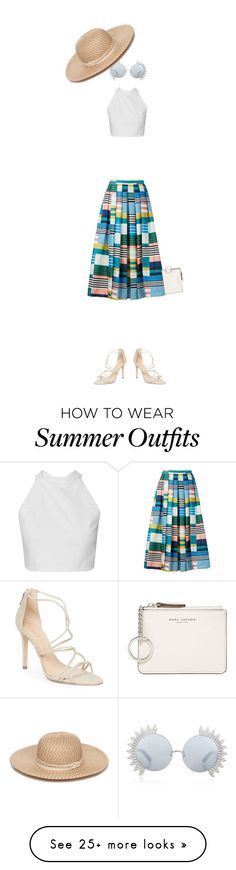 """""""Summer Outift"""" by muzicmag on Polyvore featuring L.K.Bennett, Schutz, Marc Jacobs, Linda Farrow and Collection XIIX"""