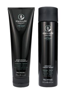 Allure's 2011 Best Shampoo and Conditioner for Dry Hair: Paul Mitchell Awapuhi Wild Ginger Moisturizing Lather Shampoo and Keratin Cream Rinse.