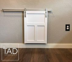 Stylish Dog Door Ideas For The Discerning Pet Owner Mini Barn Door Hardware, Diy Barn Door, Diy Door, Sliding Pet Door, Sliding Glass Door, Doggy Doors, Diy Doggie Door, Mini Bars, Craftsman Style Doors