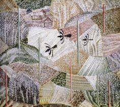Сухов Василий Владимирович (1949)  Vasily Suhov  Пейзаж с сороками 1995