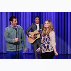Drew and Adam on The Tonight Show with Jimmy Fallon