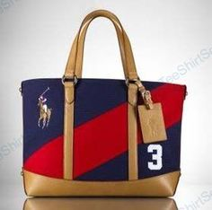 Big Pony Red and Navy Polo Bag Ralph Lauren Bags, Ralph Lauren Handbags,  Polo dee2951c534