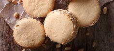 Receta de Alfajor de Nueces | Postres | Recetas | Diariamente Ali Muffin, Cookies, Breakfast, Food, Walnut Recipes, Milk Cans, Sour Cream, Sweets, Desserts