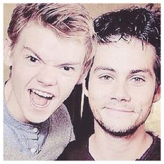 Oh Thomas...this is why I love you. Dylan you such a cutie pie.