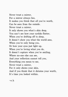 Here is the poem featured on our latest blog post about what does and doesn't define our worth. {Maddieandashleybeauty.Blogspot.Com}