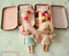 Pocket Fairies / WONDER IF I CAN BUY THESE~ MY NIECE WOULD GO CRAZY OVER THEM~