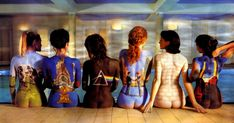 Body Paint  A Pondering Mind Image Source Body painted women for Pink Body Paint on Pinterest  Stay Gold Pink Floyd and Body Paint Image Sou... Pink Floyd Cd, Pink Floyd Poster, Pink Floyd Albums, Pink Floyd Back Catalogue, Airbrush Body Paint, Atom Heart Mother, Iconic Album Covers, Cd Cover Design, Celebrity Bodies