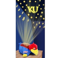 Kansas Jayhawks Dream Lites Pillow Pet for those littlest of fans..