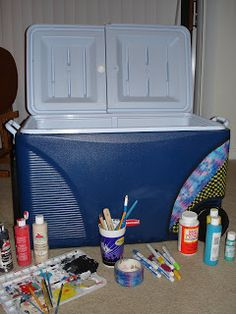 Sincerely Shannon: Cooler Painting: A Detailed Guide