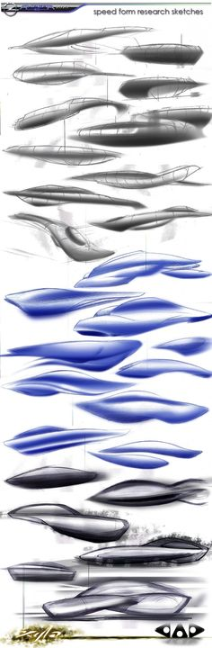 Cover in DESIGN THE 2020 AMPERA Form Design, Sketch Design, Shape Design, Sketch Inspiration, Design Inspiration, Speed Form, Thumbnail Sketches, Photoshop Rendering, Industrial Design Sketch