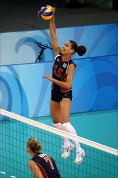 Logan Tom US Olympic Indoor Volleyball Player - Love Her & SO happy to be rooting her on in another olympics!