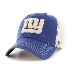 New York Giants Springfield Clean Up Vintage Blue 47 Brand Adjustable Hat ee5e9c5040df