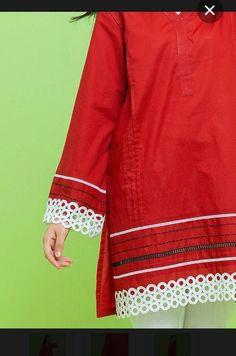 Ladies Kurti Design, Girls Frock Design, Fancy Dress Design, Kurta Designs Women, Stylish Dress Designs, Sleeves Designs For Dresses, Dress Neck Designs, Simple Pakistani Dresses, Pakistani Dress Design