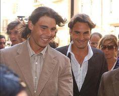 Roger Federer and Rafael Nadal  - roger-federer-and-rafael-nadal Photo