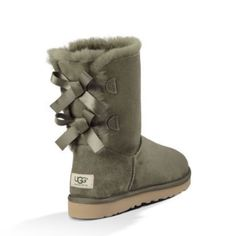 UGG authentic Bailey bow forest green boots Sz 5 UGG authentic Bailey bow forest green boots Sz 5 new 100% authentic UGG Shoes