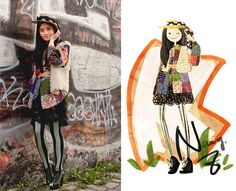 On the way (by Nancy Zhang) http://lookbook.nu/look/1887162-On-the-way
