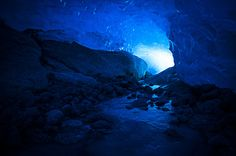 Light In The Ice Tunnel by Kristin Brænd on 500px