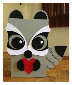 Skunk out of the Bigz Top Note by Stampin' Up!