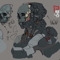 Special force concept #conceptart #design #gameart #art #skull