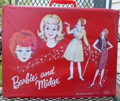 Midge and Barbie case, I still have my dolls and cases...Barbie, Skipper and Scooter...