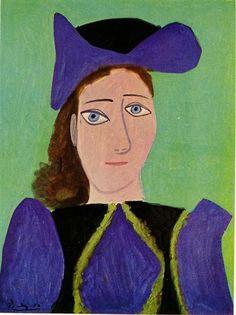 Portrait of D. M. - Pablo Picasso