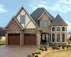 French Country... I love this look... Different and cute! CLICK to see floor plans and actual pictures of house!! AWESOME!!