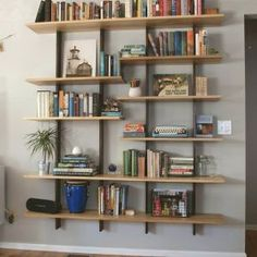 New Living Room Ideas Decor Design Floating Shelves Ideas Living Room Decor, Floating Shelves Diy, Bookcase, Living Room Shelves, Corner Shelves, Trendy Living Rooms, Shelves, Floating Glass Shelves, Bookshelf Design