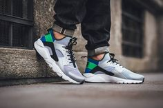 huge discount 03a12 b9553 More ideas. We take an on foot look at the Scream Green Huarache Ultra.