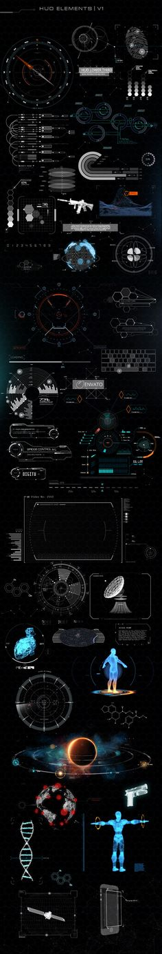 About Quantum HUD Infographic :    	After releasing most popular HUD pack (Phantom HUD Infographic) we've decided to take Hitech & HUD world into a new level and guess wha...