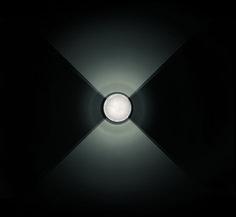 ith . outside luminaire . Außenleuchte . wall luminaire .Wandleuchte . aluminium brushed, anodized, crystal glass . Aluminium gebürstet, eloxiert, Kristallglas