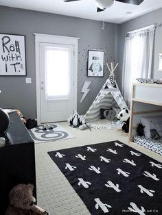 Cactus Stamp Rug design by Lorena Canals - Kids room design - kinderzimmer Boy Toddler Bedroom, Toddler Rooms, Baby Boy Rooms, Kids Bedroom, Toddler Boy Room Ideas, 4 Year Old Boy Bedroom, Baby Room, Little Boy Bedroom Ideas, Toddler Room Decor