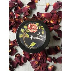 1930'S Rose Pomade Vintage Pomade Vintage Hairstyle Vintage Curl Set... ($10) ❤ liked on Polyvore featuring beauty products, haircare, styling products, bath & beauty, dark olive, hair care, hair styling, pomades and waxes & gels
