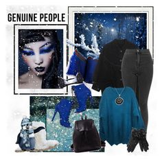 """Genuine-People 10."" by carola-corana ❤ liked on Polyvore featuring Akira Black Label, Giorgio Armani, Effy Jewelry and Genuine_People"