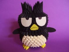 SANRIO Batzumaru - 3D Origami .. I wanna make one!
