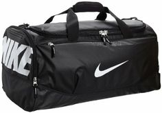 Amazon.com: Nike Nike Team Training Max Air Large Duffel (BLACK/BLACK · Nike  MaxGym BagsShoulder ...