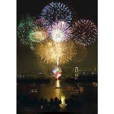 Odaiba Rainbow Fireworks festival 2011