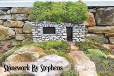 Stonework by Stephens - Constructed dry-stack style with reinforced concrete, they are weather hardy and very durable - instructional video coming soon