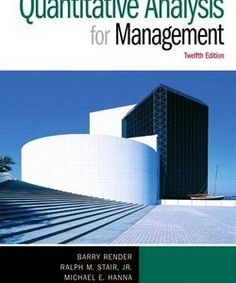 Solutions manual for supply chain management strategy planning download test bank for quantitative analysis for management 12e barry render ralph fandeluxe Images