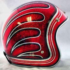 #Helmet #Motorcycle #MetalFlake