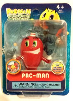 NEW Pac-Man and the Ghostly Adventures-PACS PAL SPIRAL#06- Pac Figure Poseable