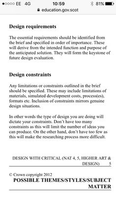 Design Brief  Fashion Design D  Photography Conceptual  Ap