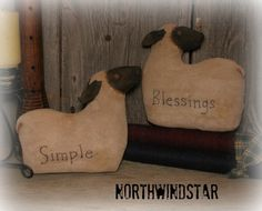 Hey, I found this really awesome Etsy listing at https://www.etsy.com/listing/117041718/primitive-sheep-dolls-ornie-bowl-filler