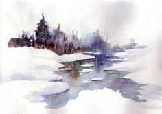 The Watercolor Workshop - Joelle Lourdel - watercolorist