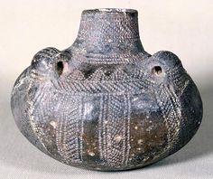 Cerámica cardial de la Cova de l'Or , neolítico levantino.