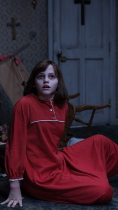 Madison Wolfe in 'Conjuring and 5 other creepy kids from horror films Lorraine Warren, The Conjuring Annabelle, Image Film, Creepy Kids, Vera Farmiga, Actress Jessica, Creepy Horror, Movies Worth Watching, Movie Wallpapers