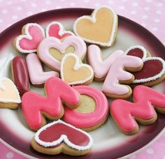 Cute Cookies For Mom