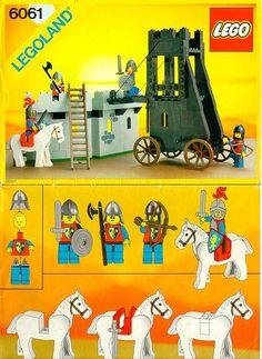 Castle - Siege Tower [Lego 6061]