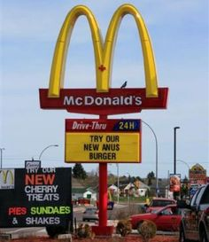 Funny Jokes About McDonald's | Funny McDonald's Signs: LOL or WTH?